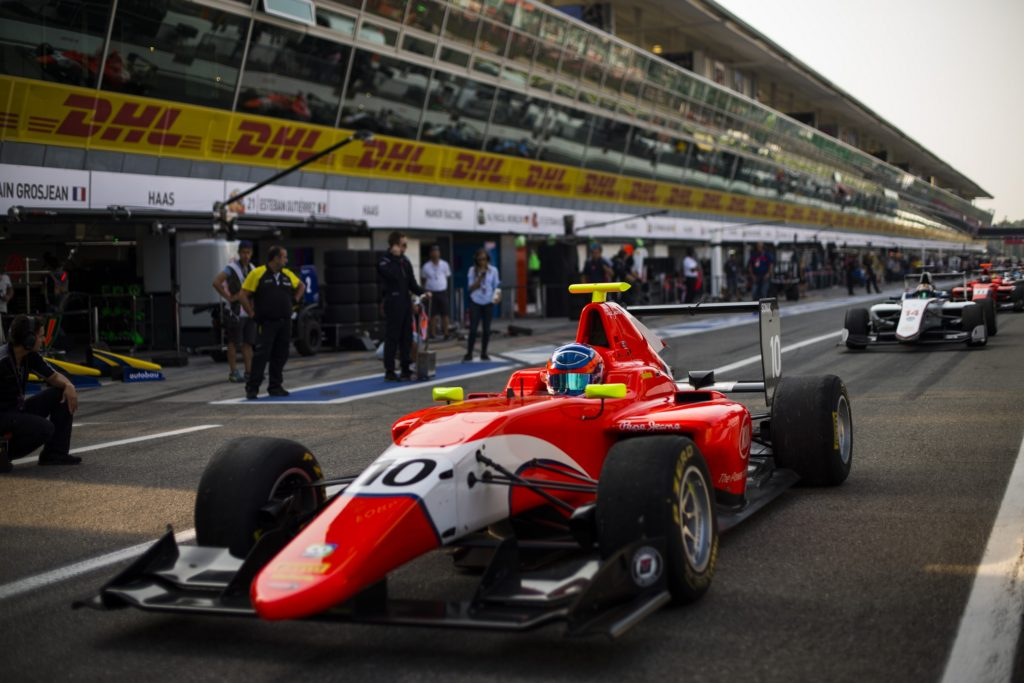 2016 GP3 Series Round 7 Autodromo di Monza, Italy. Sunday 4 September 2016. Tatiana Calderon (COL, Arden International) Photo: Sam Bloxham/GP3 Series Media Service. ref: Digital Image _SBB9106