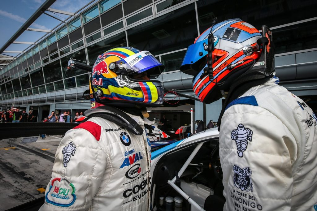 MONZA (ITA) Sept 30-Okt 2-2016 - International GT Open, Euro Formula Open and Formula V8 series 2016 at Autodromo di Monza. GUSTAVO YACAMÁN / FERNANDO MONJE #02 Teo Martin Motorsport. Action. © 2016 Diederik van der Laan / Dutch Photo Agency / LAT Photographic