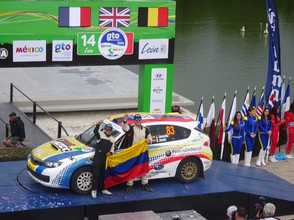 ColombiaRallyteam2017WRC